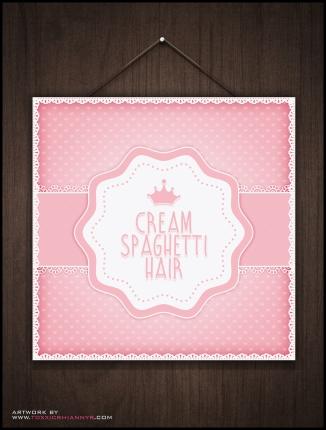 creamspaghettihair