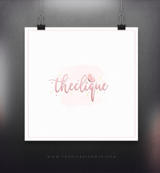logo display-theclique