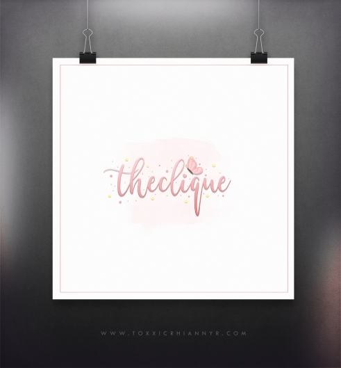 logo display-theclique
