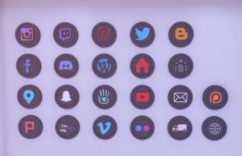 2019 Mesh Social Icons
