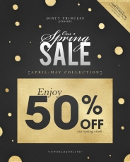dirtyprincess-sale-flyer