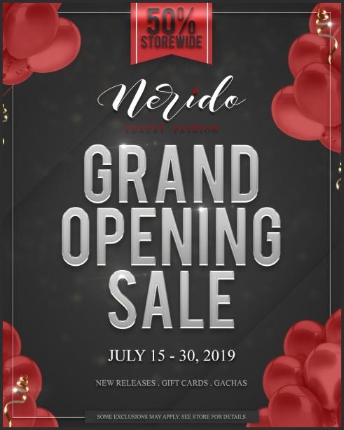 nerido-grandopening-sale-poster