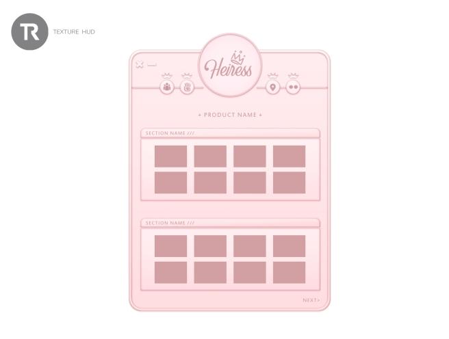hud - displays - heiress