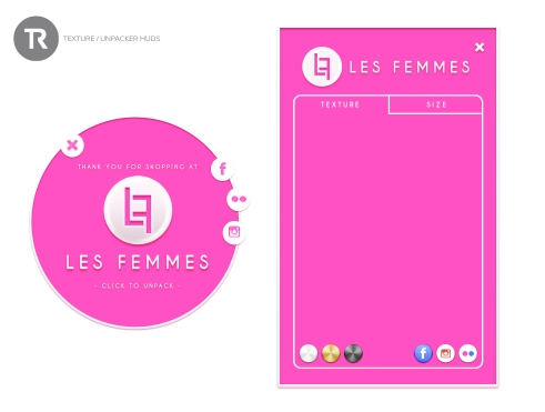 hud - displays - lesfemmes