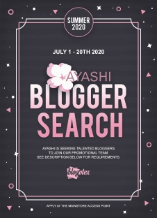 Ayashi - Blogger Search Poster