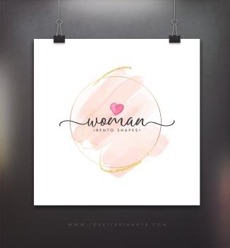 logo - womanbentoshapes