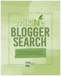 Mikine - Blogger Poster