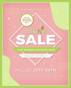 Mikine - Sale Poster