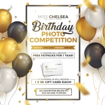 birthday photo competition