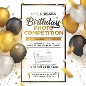 birthday photo competition