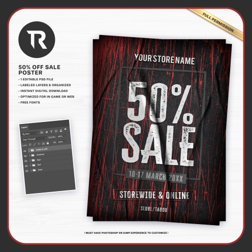 50off-sale-poster