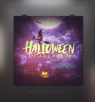 logo - halloween - spooktacular